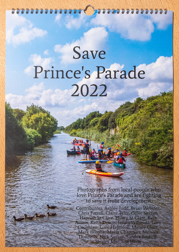 Save Princes Parade Calendar 2022